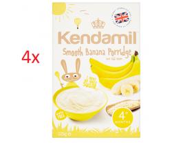 4x detská banánová kaša 125g Kendamil