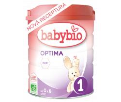 6x Dojčenské Bio mlieko Babybio Optima 1 800 g