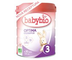 6x Dojčenské Bio mlieko Babybio Optima 3 Croissance 800 g