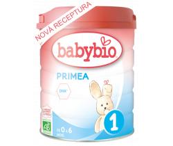 6x Dojčenské mlieko 800 g Babybio Primea 1