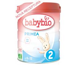 6x Dojčenské mlieko 800 g Babybio Primea 2