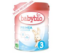 6x Dojčenské mlieko 800 g Babybio Primea Croissance 3