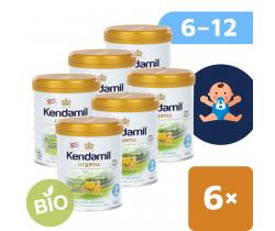 6x BIO plnotučné pokračovacie mlieko 800 g DHA+ Kendamil Organic 2