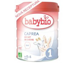 6x Kozie dojčenské mlieko Babybio caprea 1 800g New