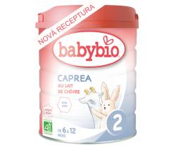 6x Kozie dojčenské mlieko Babybio Caprea 2 800g New