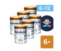 6x Pokračovacie mlieko 900 g DHA+ Kendamil 2