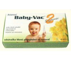 Arianna Baby-Vac 2 Ergonomic Odsávačka hlienov na vysávač