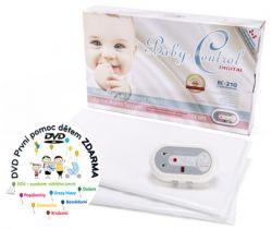 Monitor dychu s dvomi senzorovými podložkami Baby Control Digital BC-210