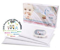 Monitor dychu s tromi senzorovými podložkami Baby Control Digital BC-230
