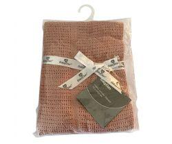 Detská háčkovaná bavlnená deka 75x100 cm Baby Dan