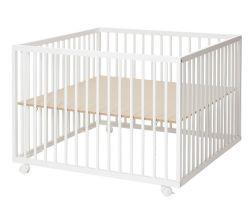Drevená ohrádka 99x99x73 cm Baby Dan Comfort Large
