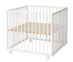 Drevená ohrádka 79x79x73 cm Baby Dan Comfort Medium