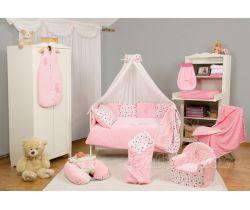 Baby Matex Best Friend obliečky jersey/plyšové-Ružové