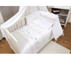 Baby Matex Bianco Cat bavlnené obliečky
