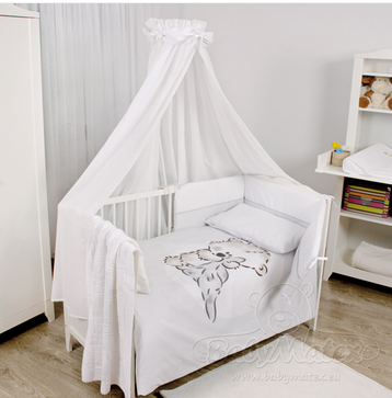 Baby Matex Bianco Wool bavlnené obliečky