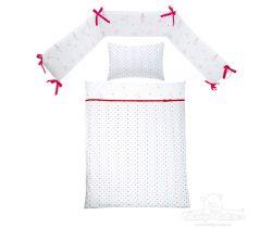 Baby Matex Hviezdičky bavlnené obliečky