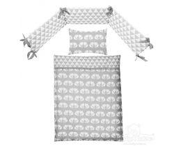 Baby Matex Lišky bavlnené obliečky