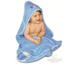 Baby Matex LUPER detská osuška s kapucňou