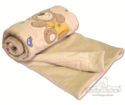 Baby Matex Magic deka z plyšu s aplikáciou 75 x 100 cm