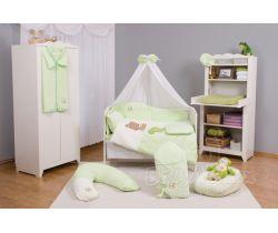 Baby Matex Medvedík obliečky plyšové-Zelené dopredaj