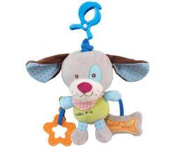 BabyMix Pejsek plyšová hračka s hracím strojkem
