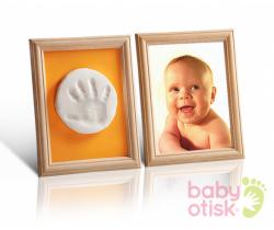 Baby Otisk sada pre odtlačok s paspartami-oranžovo zelená