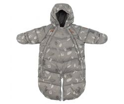Baby Overall Leokid Gray Blue Forest