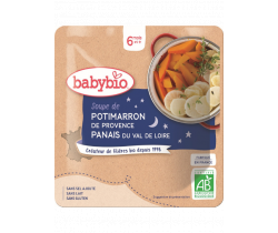 Babybio dýňová polievka s pastrňákom 190g