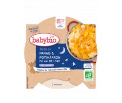 Babybio Good Night menu gratinovaný paštrnák s dýňou 260g