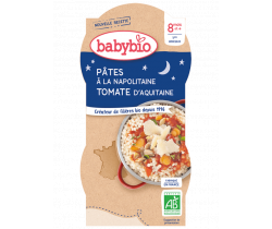Babybio Good Night menu neapolské cestoviny 2 x 200g