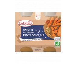 Babybio Good Night menu zeleninová zmes s pšenicou 2 x 200g