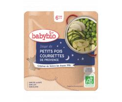 Babybio hrášková polievka s cuketou 190g