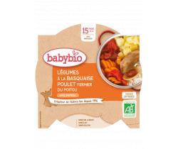 Babybio menu zelenina s kuraťom a rýžou 260g