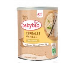 Babybio nemliečna ryžová kaša s vanilkou 220g
