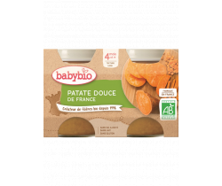 Babybio zeleninový príkrm sladké zemiaky 2 x 130g