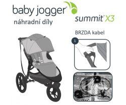 Brzda kábel Baby Jogger Summit X3
