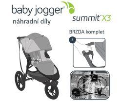 Brzda komplet Baby Jogger Summit X3
