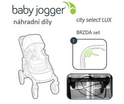 Brzda set Baby Jogger City Select Lux