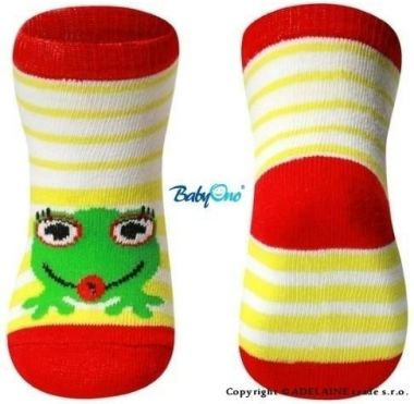 BabyOno 588/01 bavlnené ponožky 6m+