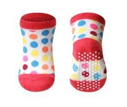 BabyOno bavlnené protišmykové ponožky 0+ 587/03