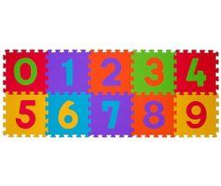 BabyOno penové puzzle čísla 10 ks Nr. Kat 274