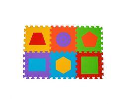 BabyOno penové puzzle tvary 6 ks Nr. Kat. 279