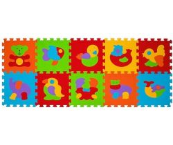 BabyOno penové puzzle zvieratká 10 ks Nr. Kat. 276