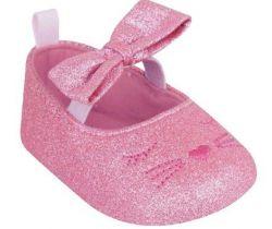 Balerínky YO Kitten Glitter pink