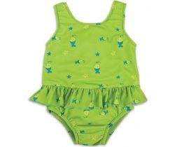 Bambino Mio dievčenské plavky vcelku Lime