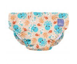 Bambino Mio kúpacie nohavičky Blue Squid