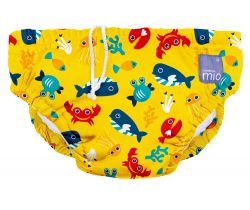 Bambino Mio kúpacie nohavičky Deep sea yellow