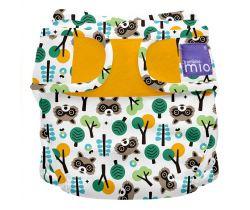 Plienkové nohavičky Miosoft Bambino Mio Raccoon Retreat