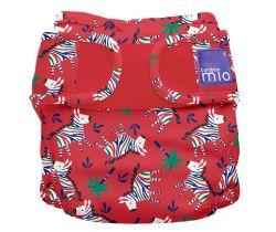 Plienkové nohavičky Miosoft Bambino Mio Zebra Dazzle