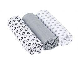 Bavlnené plienky 85x85 cm Lässig Swaddle Blanket